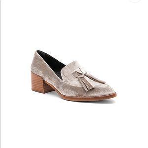 Rebecca Minkoff | Edie loafer in velvet putty